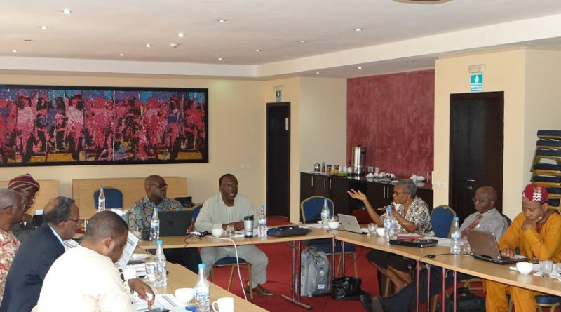 NAS Exco members at the strategic Retreat held in Lagos on the 20th and 21st of February, 2017