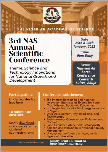 3rd NAS Annual Scientific Conference